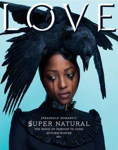 Love, No. 6, Fall/Winter 2011 #cover   Nyasha Matonhodze by Mert & Marcus