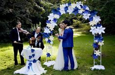 decoración con flores gigantes de papel7