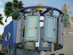 Monster Inc doors in Disney World
