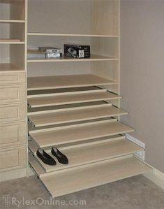 Resultado de imagen para closet designs for shoes
