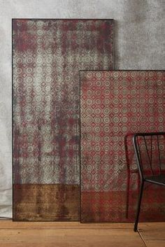From shopstyle: Anthropologie Lace Printed Mirror #anthrofave   { Home Couture #beautiful #details