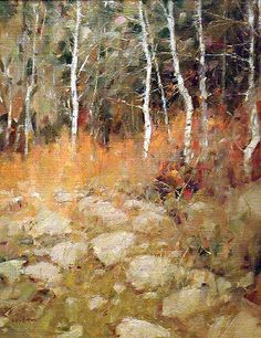 Landscape Painting - Irby Brown