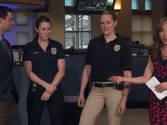 DENVER -- Members from the Arvada Police Department stopped by the 9NEWS studio…