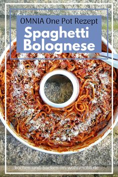 Spaghetti Bolognese, One Pot, Camping, German Cuisine, Rv, Campsite, Stew, Campers, Tent Camping
