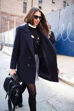 New York Moda Haftası Sonbahar / Kış 2012 Sokak stili - Moda Galerileri - Telgraf