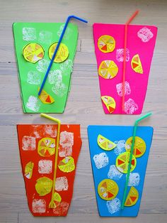 Summer drinks- pitterpatterart, via Flickr