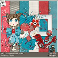 Color Play 17 - My Funny Valentine Mini Pack 1