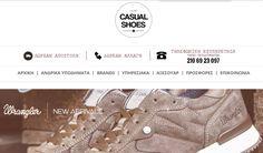 Casualshoes - Ανδρικά Παπούτσια | Online Καταστήματα - Webfly