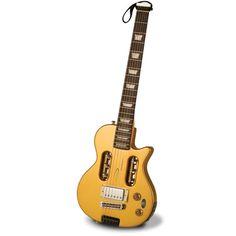 The Electric Travel Guitar - Hammacher Schlemmer.  Inspiration for travel uke