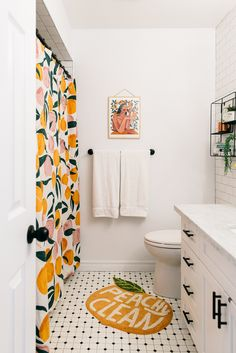 22 Modern Bathroom Design Ideas For You 2019 - Page 18 of 22 - coloredbikinis. Diy Bathroom Decor, Small Bathroom, Peach Bathroom, Bathroom Black, Apartment Bathroom Decorating, Bathroom Theme Ideas, Orange Bathroom Decor, Modern Bathroom, Bathroom Colors