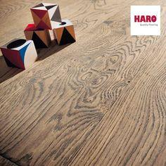 Haro Retro Burshed faparketta  Az innovatív retro felületek kiváló részletességgel mutatkoznak meg ezen a nagyszerű padlón. Bonyolult technikai eljárásokkal érik el, ezt a csodálatos, szinte történelmi jellegű hatást, amit a padló sugall. A kitüremkedő csomók adnak egy igazán különleges maghatározott kinézetet ennek a parkettának.   Ha kíváncsi vagy a Haro többi nagyszerű parkettájára, gyere és látogass el megújult weboldalunkra és tekintsd meg őket!  www.dreamfloor.hu