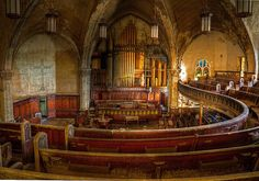 Abandoned church, Detroit