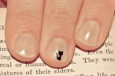 Kitty nail art nail sticker decal