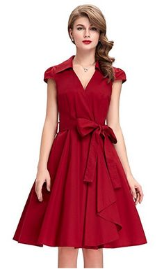 3427e34f03 GRACE KARIN Women s Cap Sleeve Swing Vintage Party Dresses Vintage Pencil  Dress