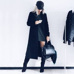 Ecstasy Models — BLVCK Dress: sammydressfashion Fashion by. All Black Outfit, Wattpad, Thing 1, Dressed To Kill, Outfit Goals, Outfit Ideas, Fashion Killa, Swagg, Fashion Outfits