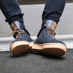 Simpler Times sneaker, by Tobe x Simpleton.