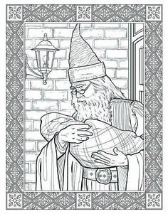 Here's A Look Inside The Harry Potter Coloring Book