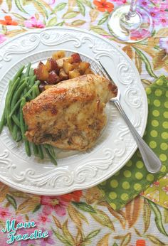Spiced Roasted Chicken Breasts and Potatoes