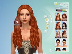New hair for your Sims, I hope you like! Available in default textures, from teen to elder, 18 colors. Available for the base game. Pl...