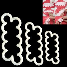 3 Size/Set Cookie Cutter Fondant Cake Decorating Tools Sugarcraft Cutter Rose Flower Mold Cake Tool Free Shipping by ToonTopper on Etsy