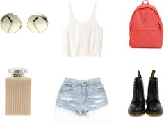 """""""i just want to get away"""" by silkmilk ❤ liked on Polyvore"""