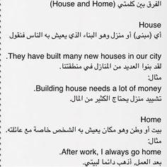 english_ab (أكاديمية المتّحدون) on Instagram English Words, English Lessons, English Grammar, Learn English, Arabic Sentences, Arabic Phrases, Arabic Quotes, English Language Course, English Language Learning