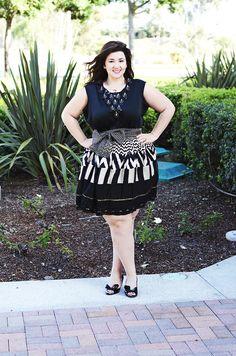 Wearing A'doreus by Sharlene Borromeo | Crystal Coons Plus Fashion San Diego Fashion Week Custom Party dresses 2014 fall fashion