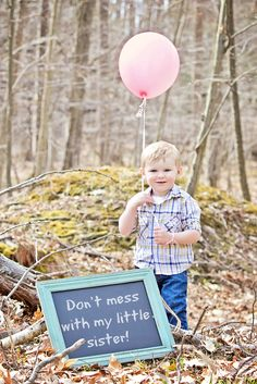 It's a GIRL!! gender reveal photography | Huey Family Photography PA blog photographer Vanessa Huey little sister big brother ideas love before and after editing