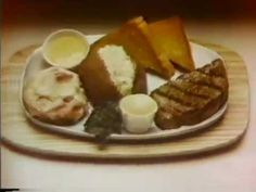 1980 commercial for the Steak and Malibu Chicken meal at the Sizzler steakhouse Easy Steak Recipes, Chicken Recipes, Easy Weeknight Dinners, Boneless Chicken, Spicy, Low Carb, Swiss Cheese, Meals