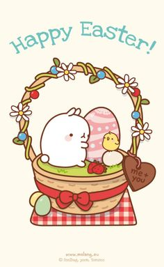 Happy Easter from Molang