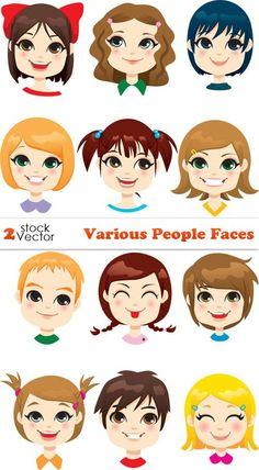 Rostros de personas