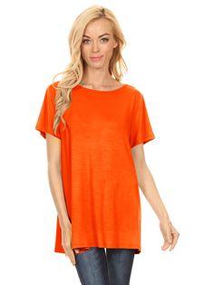 3fc0dcf85a2b19 Simlu - Simlu Womens Basic 3 4 Sleeve Long A-Line Top Swing Tank Top Tunic  Dress - USA - Walmart.com · Black ...