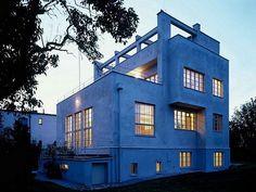 Adolf Loos designed House in Prague by Adolf Loos and Karel Lhota, 1931-32.