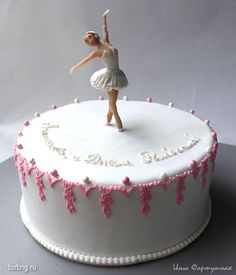 Ballerina cake This is really a great idea for the next ballerina party. Ballerina cake This is really a great idea for the next ballerina party. Ballet Birthday Cakes, Ballet Cakes, Ballerina Cakes, Ballerina Birthday, Birthday Cake Girls, Tutu Cakes, Fondant Cakes, Cupcake Cakes, Pretty Cakes