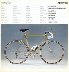 1983 Scapin brochure op Italiaanse Racefietsen