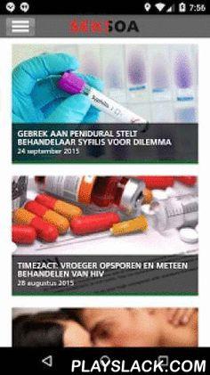Seksoa  Android App - playslack.com ,  Seksoa is het digitale magazine over SOA, HIV en seksuele gezondheid voor artsen, verpleegkundigen en andere beroepsbeoefenaren die werkzaam zijn in de soa- of aidsbestrijding. Download de App en lees de nieuwste artikelen, nieuwsberichten en bekijk de evenementen van Soa Aids Nederland, het Aids Fonds en STOP aids NOW! Seksoa the digital magazine about STDs, HIV and sexual health for physicians, nurses and other professionals working in the STD or…