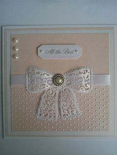 Tattered lace chantilly bow