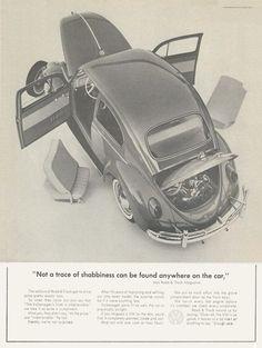 VW Volkswagen Beetle Not a Trace of Shabbiness Ferdinand Porsche, Vw Bugs, Vw Volkswagen, Vw T1, Jdm, Van Vw, Vw T3 Doka, Kdf Wagen, Auto Union
