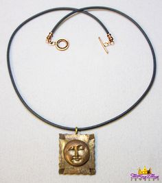 1-3. Moon Plaque Necklace Our new runway jewelry on ETSY: https://www.etsy.com/shop/TheKingsThings