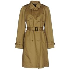 Dolce & Gabbana Overcoat ($1,100) ❤ liked on Polyvore featuring outerwear, coats, camel, over coat, long sleeve coat, double breasted camel coat, camel lapel coat and double-breasted trench coat