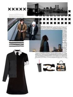 """""""Friday Night Lights - Mrs. Matt Saracen"""" by asmin ❤ liked on Polyvore featuring macgraw, Kate Spade, Dolce&Gabbana and Whistles"""