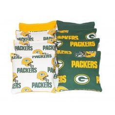 Green Bay Packers Cornhole Bags