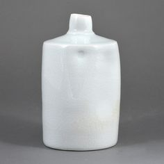 Edmund de Waal  #ceramics #pottery. There's an example of this type of bottle in the Rothschild Study Centre at the Shipley Gallery in Gateshead. Take a look, it might even be this very one!