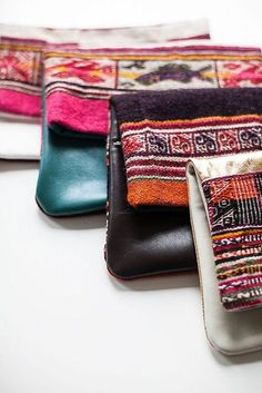 non-perishable goods by the style files, via Flickr ethnic bags