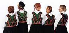 FolkCostume&Embroidery: Overview of Norwegian Costumes, part The eastern heartland Folk Costume, Costumes, Norwegian Clothing, Heartland, Norway, Scandinavian, Embroidery, Clothes, Vintage