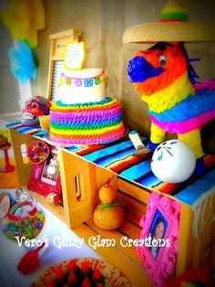 Mexican Fiesta Birthday Party Ideas!  See more party ideas at CatchMyParty.com!