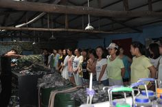 The simulation of CS - Xinke Protective: We lined up to get our clothing before training www.xinkeprotective.com