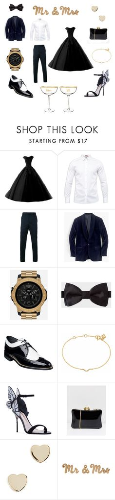 """Couple goals"" by miloni-jhaveri on Polyvore featuring Ted Baker, Gucci, J.Crew, Nixon, Paul Smith, Stacy Adams, Maya Magal, Sophia Webster, Lulu Guinness and Shashi"