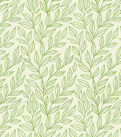 Seamless Pattern with Green Leaves Vector seamless pattern with green leaves. Zip file contains fully editable vector file. Created: GraphicsFilesIncluded: VectorEPS Layered: No MinimumAdobeCSVersion: CS Tags: background Patterns In Nature, Textures Patterns, Print Patterns, Nature Pattern, Floral Patterns, Vector Pattern, Pattern Art, Pattern Design, Design Design