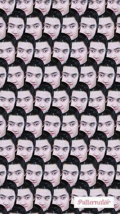 Kyungsoo, Chanyeol, Exo Lockscreen, Exo Do, Do Kyung Soo, Exo Memes, Kpop Exo, Idol, Chen